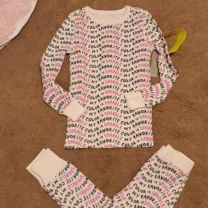NWT Crewcuts Sparkle Pajamas 5